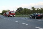 Verkehrsunfall Richtung Roßbach